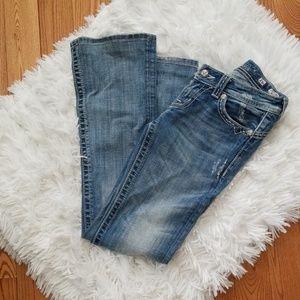 Miss Me Light Wash Boot Cut Jean